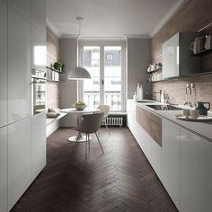 Die 71 besten Bilder von schmale Küche | Schmale küche, Haus ...