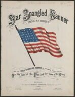 Star spangled banner. sheet music | 6 p., 10 x 13 in. | Sheet Music (Form). Contributor Names: [Smith, John Stafford] -- 1750-1836 (composer) [Key, Francis Scott] -- 1779-1843 (lyricist). Created / Published: Blodgett & Bradford, 1861. Library of Congress.