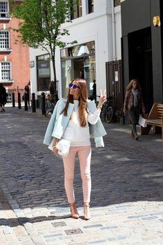 pastel fashion spring