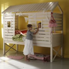 kinder bett on pinterest bunk bed beach huts and high. Black Bedroom Furniture Sets. Home Design Ideas