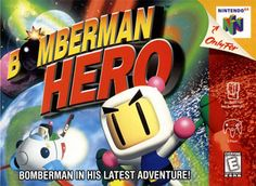 Title: Bomberman Hero (Nintendo UPC: 045496870317 Condition: Pre-owned. Tested and works well - sold as pictured Shipping:Orders Placed Before 4 A. Ship out Same day.Orders after 4 A. Ship next business day.Shipments are made Monday through Saturday. Nintendo 64 Games, Nintendo N64, Playstation, Original Nintendo, Space Invaders, Pac Man, Save The Day, Donkey Kong, Box Art