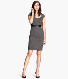 Figure-fit dress