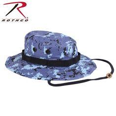 b339df9289c Digital Sky Blue Camo Boonie Hat - ArmyNavyShop.com