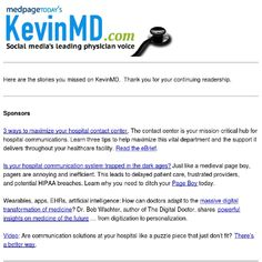 Blogger Kevin,MD