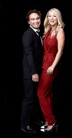 Johnny Galecki et Kaley Cuoco (The Big Bang Theory)