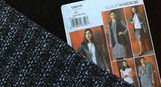 Fall Pattern Trends by Julie Eilber:  Fall Trends:Sewing Patterns for Jackets, Vests and Coats