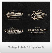 96 Retro Vintage Badges & Labels Bundle Vol.2 | GraphicRiver