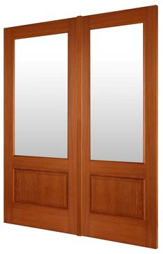 Glazed hardwood French doors For looks company is in UK