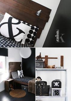 Chocolate, black and white