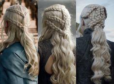 Daenerys Braids Picture khaleesi hair daenareys season 7 back view awesome Daenerys Braids. Here is Daenerys Braids Picture for you. Daenerys Braids daenerys tells viserys he hasnt earned a bra. Braided Hairstyles, Cool Hairstyles, Elven Hairstyles, Fantasy Hairstyles, Braid Game, Daenerys Targaryen, Fancy Braids, Game Of Thrones, Hair Cuts