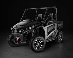 New Blacked Out Gator Utility Vehicles from John Deere - RSX850i