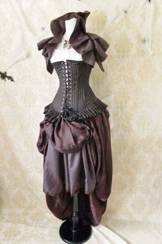 20 DOLLARS OFF Privateer Pirate CorsetFor A 4244 by AliceAndWillow, $89.00