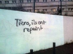 image drole - Tiens, ils ont repeint...