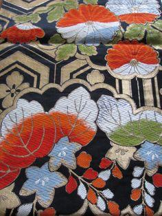 OBI, Showa era (1960~)   Material: Pure silk