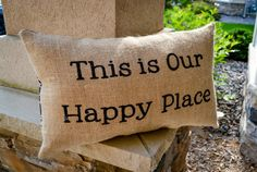 This is a charming pillow to remind yourself of how you much you love your life! It would be a wonderful gift to give someone to brighten their