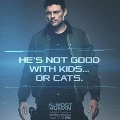 Karl Urban - Detective John Kennex - Almost Human