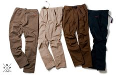 2011SS CLIMBER EASY PANTS – C/P TWILL STRETCH by GRAMICCI