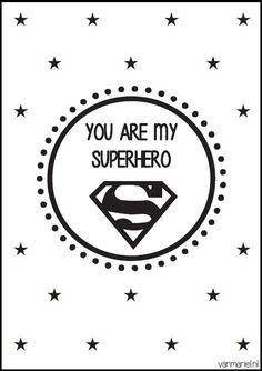A6 | You are my superhero