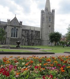 """""""A pretty view of St. Patrick's Cathedral in Dublin."""" (From: 50 Beautiful Photos of Ireland) #ireland #dublin #budgettravel #travel"""