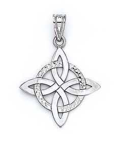 """The Celtic knot is said to stand for """"no beginning, no ending, and the continuation of everlasting love"""" and/or """"the binding together of two souls or spirits for eternity."""" Many Christians choose this symbol as a sign of their enduring love on special occasions such as Valentine's Day, Mother's Day, and the famous Wedding Day."""