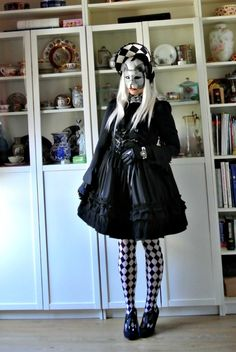 Gothic - Non-print - Halloween - Cat