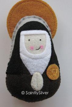 Saint Teresa Benedicta of the Cross Felt Saint Softie
