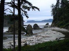 Ruby Beach, Washington Coast