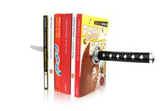 Katana Samurai Sword Magnetic Bookends from Cool Stuff Express. Saved to Sagacious stationary. Katana Swords, Samurai Swords, Samurai Warrior, Cool Gifts, Unique Gifts, Cadeau Design, Ninja Sword, Cheap Christmas Gifts, Christmas Ideas
