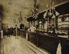 Bar interior 1890's