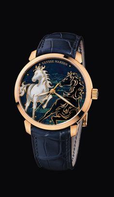 #UlysseNardin #BlueandGold @PharaohsLegacy Classico Horse for Chinese New Year