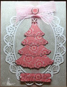 11/15/11 SweetStamps.com Challenge Non-traditional Christmas colors; DT Joni