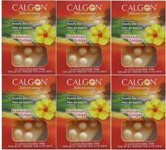 6 CALGON BEAUTY BAR SOAP HAWAIIAN GINGER ENGLISH GARDEN MORNING GLORY YOU CHOOSE #CALGON