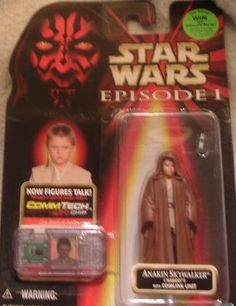 Amazon.com  Star Wars Figure Episode I Anakin Skywlaker (Naboo) w Comlink  Unit  Toys   Games 5eee6160f2