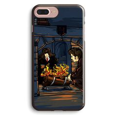 The Witch in the Fireplace Apple iPhone 7 Plus Case Cover ISVG843