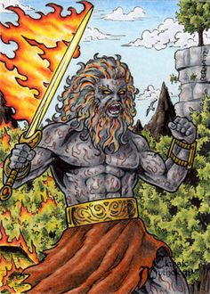 Surtr - Classic Mythology by tonyperna.deviantart.com on @deviantART