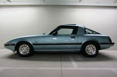 I can't shake a crush on the mid80s RX7. I know all the complaints about it. I'm just sayin' she'd look so pretty with me behind the wheel.