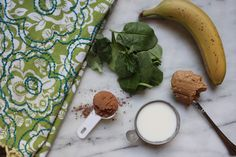Chocolate Banana Smoothie via With Style and a Little Grace