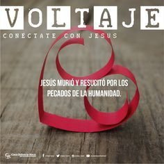 Jesús murió y resucitó por los pecados de la humanidad. http://devocional.casaroca.org/jv/03feb #ConéctateConJesús.