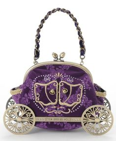 harajuju:    Anna Sui— Princess Handbag — ¥40,950  Also comes in black. A bag fitting for any Lolita, Dolly-kei,girly gothor princess at heart.  Discuss this post on the HARAJUJU.net community