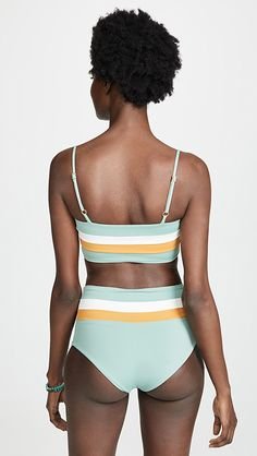 564b9a96ae L*Space Rebel Stripe Reversible Bikini Top | SHOPBOP L Space, Striped Bikini ,