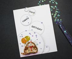 ОСЕННИЙ CAS-МАРАФОН: ЭТАП III - ИТОГИ Friend Birthday, Cards, Maps, Playing Cards