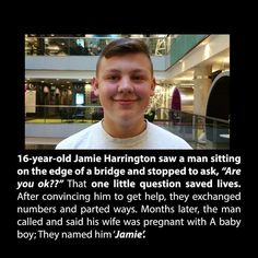 respect for this Jamie Harrington.Much respect for this Jamie Harrington. Sad Love Stories, Touching Stories, Sweet Stories, Cute Stories, Beautiful Stories, Beautiful Things, Try Not To Cry, Human Kindness, Good Deeds