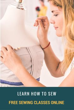 Free Sewing Classes Online:  Learn how to sew from the experts.  100+ step by step video tutorials to learn how to sew for beginners and intermediate sewists