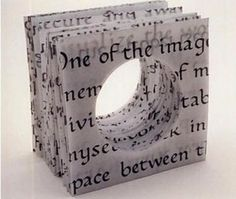 recycled paper  ring