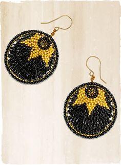 Starlight Disc Earrings