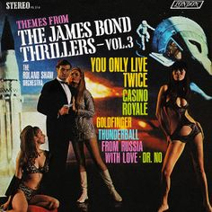 The Roland Shaw Orchestra - Themes from the James Bond Thrillers Vol. 3 (1967)