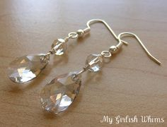 how to wire-wrap jewelry || diy wire-wrapped earring