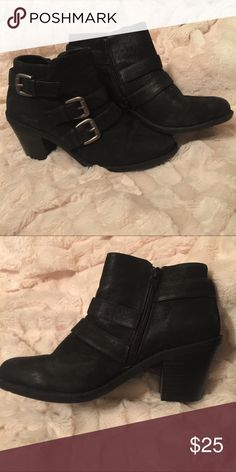Black Ruff Hewn Booties Black Ruff Hewn Booties. Only worn a few times, in great condition. Ruff Hewn Shoes Ankle Boots & Booties