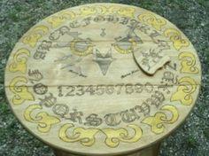 Owl ouiji board table