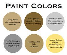 Dwellings By DeVore: Paint Colors